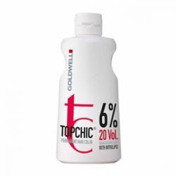 Goldwell Topchic Lotion - Оксид для волос 6% 1000 мл