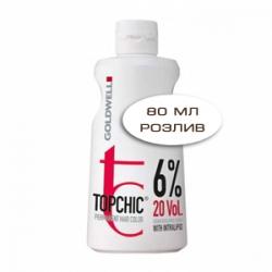 Goldwell Topchic Lotion - Оксид для волос 6% 80 мл (розлив)