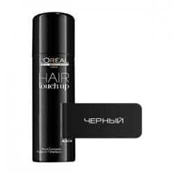 Loreal Professional Hair Touch Up Black - Консилер для волос (Черный) 75 мл