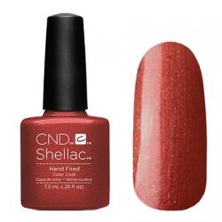 CND Shellac Hand Fired - Гель-лак для ногтей 7,3 мл цвет медно-красный