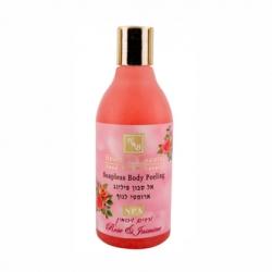 Health & Beauty - Пилинг для тела,не содержащий мыла,с витамином Е- Роза и Жасмин, 300 мл