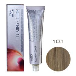 Wella Professionals Illumina Color - Стойкая крем-краска 10/1 Яркий блонд пепельный 60мл