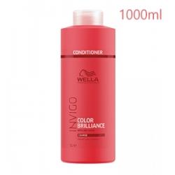 Wella Professionals Invigo Color Brilliance Coarse Protection Conditioner - Бальзам-уход для Окрашенных Жёстких волос 1000 мл