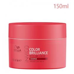 Wella Professionals Invigo Color Brilliance Coarse Protection Mask - Маска для Защиты Цвета Окрашенных Жёстких волос 150 мл