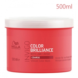 Wella Professionals Invigo Color Brilliance Coarse Protection Mask - Маска для Защиты Цвета Окрашенных Жёстких волос 500 мл