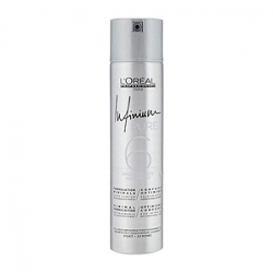 Loreal Professionnel Infinium Pure Strong Hairspray - Инфиниум Лак для волос без запаха сильной фиксации (фикс. 3) 300 мл