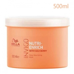 Wella Professionals Invigo Nutri-enrich Deep Nourishing Mask - Питательная Маска-уход 500 мл