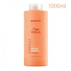Wella Professionals Invigo Nutri-enrich Deep Nourishing Shampoo - Ультрапитательный шампунь 1000 мл