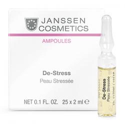 Janssen Cosmetics Ampoules De-Stress (sensitive skin) - Янссен Антистресс для Чувствительной Кожи 25 х 2мл