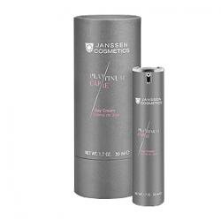 Janssen Cosmetics Platinum Care Day Cream - Реструктурирующий дневной крем с пептидами и коллоидной платиной 50 мл
