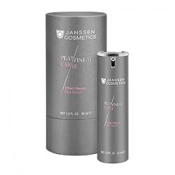 Janssen Cosmetics Platinum Care Effect Serum - Реструктурирующая сыворотка с коллоидной платиной 30 мл