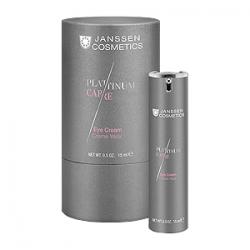 Janssen Cosmetics Platinum Care Eye Cream - Реструктурирующий крем для глаз с пептидами и коллоидной платиной 15 мл