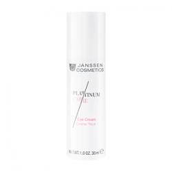 Janssen Cosmetics Platinum Care Eye Cream - Реструктурирующий крем для глаз с пептидами и коллоидной платиной 30 мл