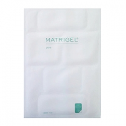 Janssen Cosmetics Massage Fleece Matrigel Pure Face Set - Матригель лифтинг-маска для лица (5 белых пластин)