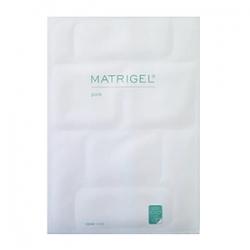 Janssen Cosmetics Massage Fleece Matrigel Pure Face Set - Матригель лифтинг-маска для лица (5 белых пластин)
