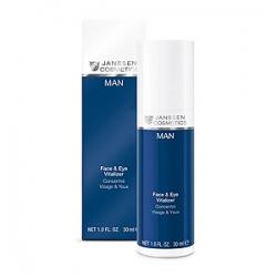 Janssen Cosmetics  Man Face & Eye Vitalizer - Ревитализирующая сыворотка для лица и зоны вокруг глаз 30 мл