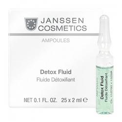 Janssen Cosmetics Ampoules Detox Fluid - Детокс-сыворотка в ампулах 25 х 2мл