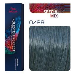 Wella Koleston Perfect ME+ Special Mix - Крем-краска для волос 0/28 Матовый синий 60 мл