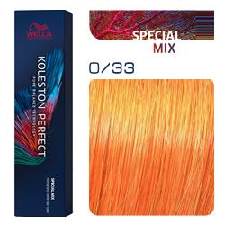 Wella Koleston Perfect ME+ Special Mix - Крем-краска для волос 0/33 Золотистый интенсивный 60 мл