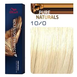 Wella Koleston Perfect ME+ Pure Naturals - Крем-краска для волос 10/0 Яркий блонд 60 мл