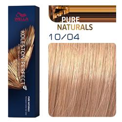 Wella Koleston Perfect ME+ Pure Naturals - Крем-краска для волос 10/04 Бархатное утро 60 мл