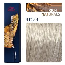 Wella Koleston Perfect ME+ Rich Naturals - Крем-краска для волос 10/1 Яркий блонд пепельный 60 мл
