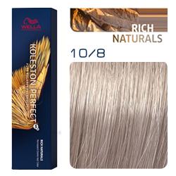 Wella Koleston Perfect ME+ Rich Naturals - Крем-краска для волос 10/8 Яркий блонд жемчужный 60 мл