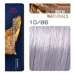 Wella Koleston Perfect ME+ Rich Naturals - Крем-краска для волос 10/86 Саламанка 60 мл