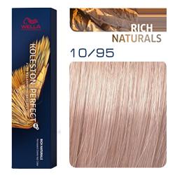 Wella Koleston Perfect ME+ Rich Naturals - Крем-краска для волос 10/95 Деликатный ледяной блонд с каплей розового 60 мл