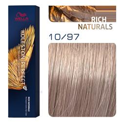 Wella Koleston Perfect ME+ Rich Naturals - Крем-краска для волос 10/97 Самбук 60 мл