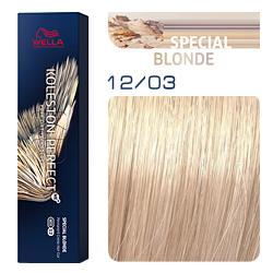 Wella Koleston Perfect ME+ Special Blonde - Крем-краска для волос 12/03 Чайная роза 60 мл