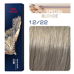 Wella Koleston Perfect ME+ Special Blonde - Крем-краска для волос 12/22 Речной жемчуг 60 мл