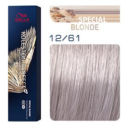 Wella Koleston Perfect ME+ Special Blonde - Крем-краска для волос 12/61 Розовая карамель 60 мл