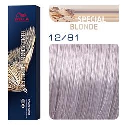 Wella Koleston Perfect ME+ Special Blonde - Крем-краска для волос 12/81 Белое золото 60 мл