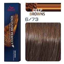 Wella Koleston Perfect ME+ Deep Browns - Крем-краска для волос 6/73 Темный блонд коричнево-золотистый 60 мл
