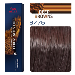 Wella Koleston Perfect ME+ Deep Browns - Крем-краска для волос 6/75 Палисандр 60 мл
