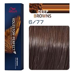 Wella Koleston Perfect ME+ Deep Browns - Крем-краска для волос 6/77 Кофе со сливками 60 мл
