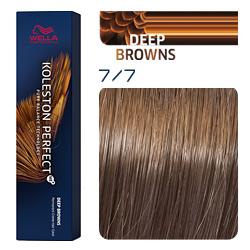 Wella Koleston Perfect ME+ Deep Browns - Крем-краска для волос 7/7 Блонд коричневый 60 мл