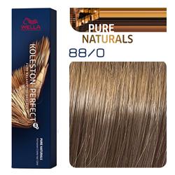 Wella Koleston Perfect ME+ Pure Naturals - Крем-краска для волос 88/0 Светлый блондин интенсивный 60 мл