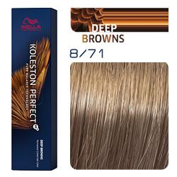 Wella Koleston Perfect ME+ Deep Browns - Крем-краска для волос 8/71 Дымчатая норка 60 мл