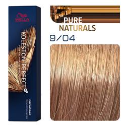 Wella Koleston Perfect ME+ Pure Naturals - Крем-краска для волос 9/04 Солнечный день 60 мл