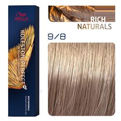 Wella Koleston Perfect ME+ Rich Naturals - Крем-краска для волос 9/8 Очень светлый блонд жемчужный 60 мл