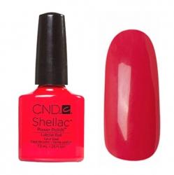 CND Shellac Гель-лак для ногтей Lobster Roll 7,3 мл кораллово-красный, эмаль.