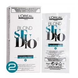 L'Oreal Professionnel Blond Studio Mejimeches компонент №2 - Осветляющий крем 6 шт х 25 гр