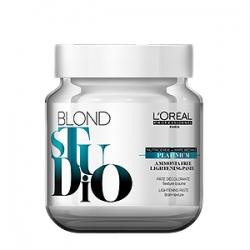 L'Oreal Professionnel Blond Studio Platinium - Обесцвечивающая Паста Платиниум без аммиака 500 гр