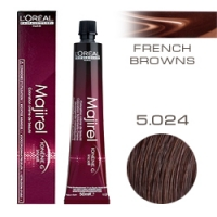 L'Oreal Professionnel Majirel French Browns - Краска для волос Мажирель 5.024 Светлый шатен натуральный перламутрово-медный 50 мл