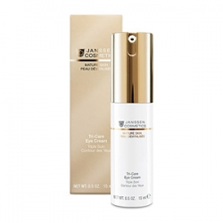 Janssen Cosmetics Mature Skin Tri-Care Eye Cream - Омолаживающий укрепл. крем для контура глаз с компл. Cellular Regeneration 15мл