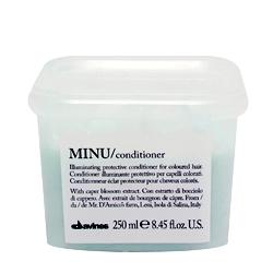 Davines Essential Haircare Minu conditioner - Защитный кондиционер для сохранения цвета 250 мл