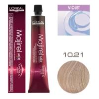 L'Oreal Professionnel Majirel - Краска для волос Мажирель 10.21 Супер светлый блондин перламутрово-пепельный 50 мл