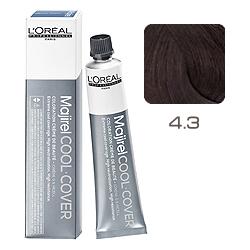 L'Oreal Professionnel Majirel Cool Cover - Краска для волос Кул Кавер 4.3 Шатен золотистый 50 мл